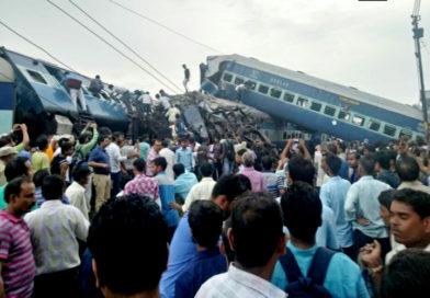 यूपी में बड़ा रेल हादसा, 23 की मौत